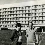 А.А. Егоров и В.В. Вавилов. ЛШ в Пущино на Оке, 1978